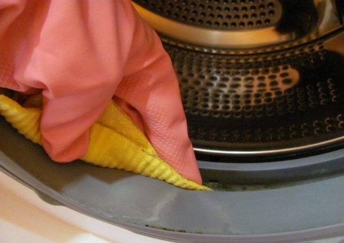 Плесень в стиральной машине-автомат: как избавиться, какие средства использовать?