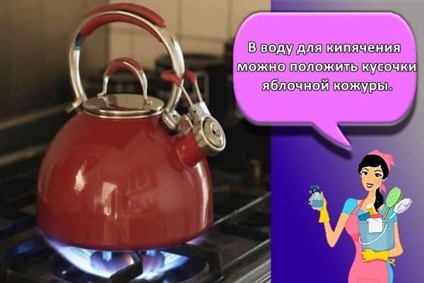 Как почистить чайник из нержавейки снаружи в домашних условиях