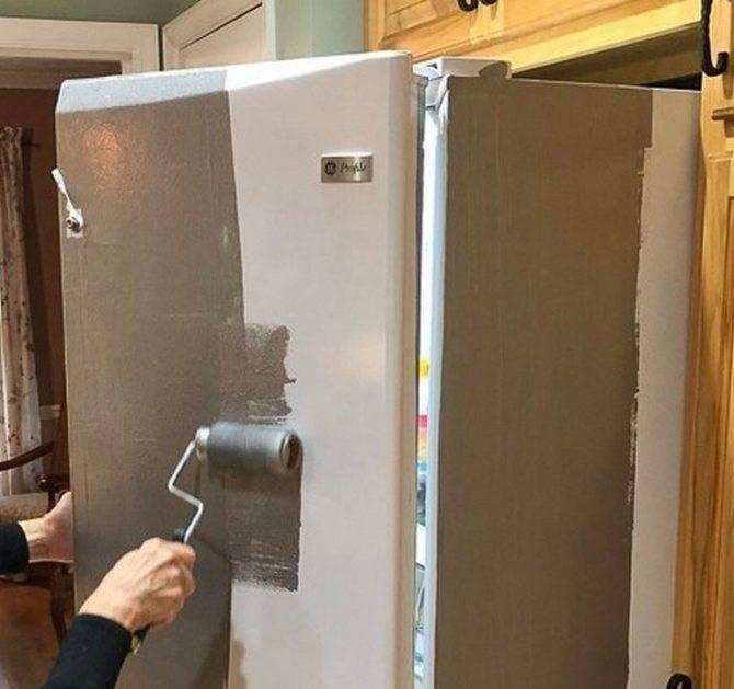 Как покрасить холодильник своими руками? – инструкция и идеи для вдохновения
