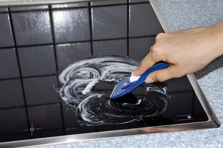 Чем мыть индукционную варочную панель