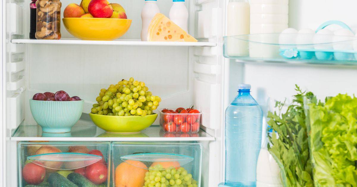 Правильное хранение продуктов в холодильнике   экономия-это просто!