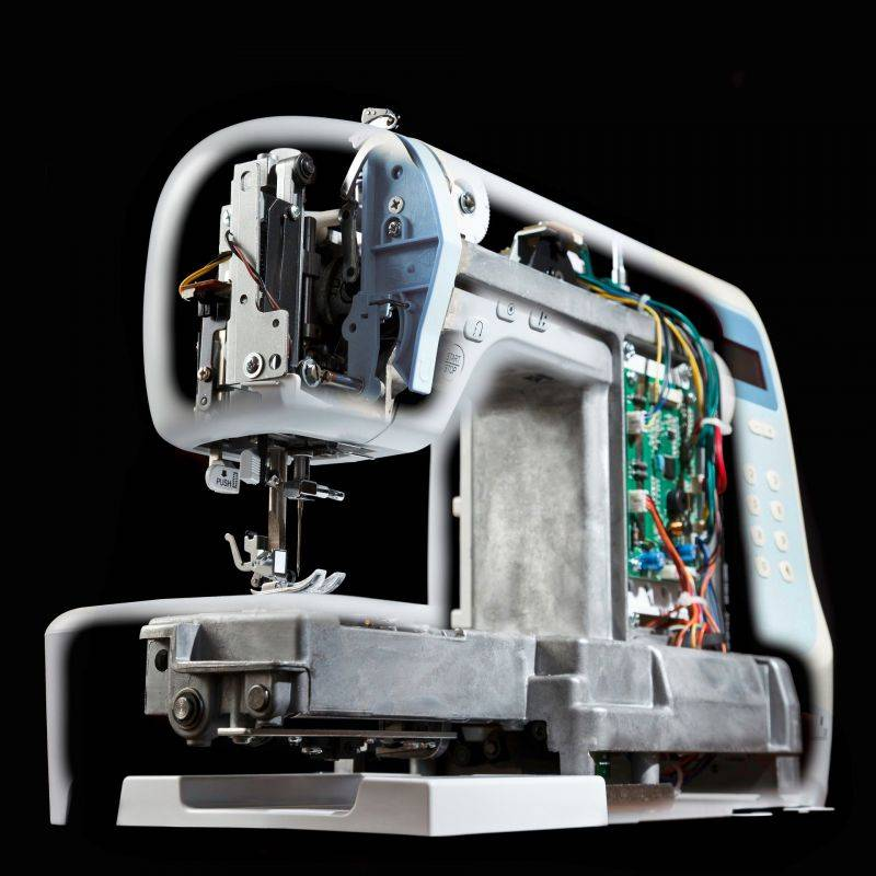Электромеханическая швейная машина — что это такое?
