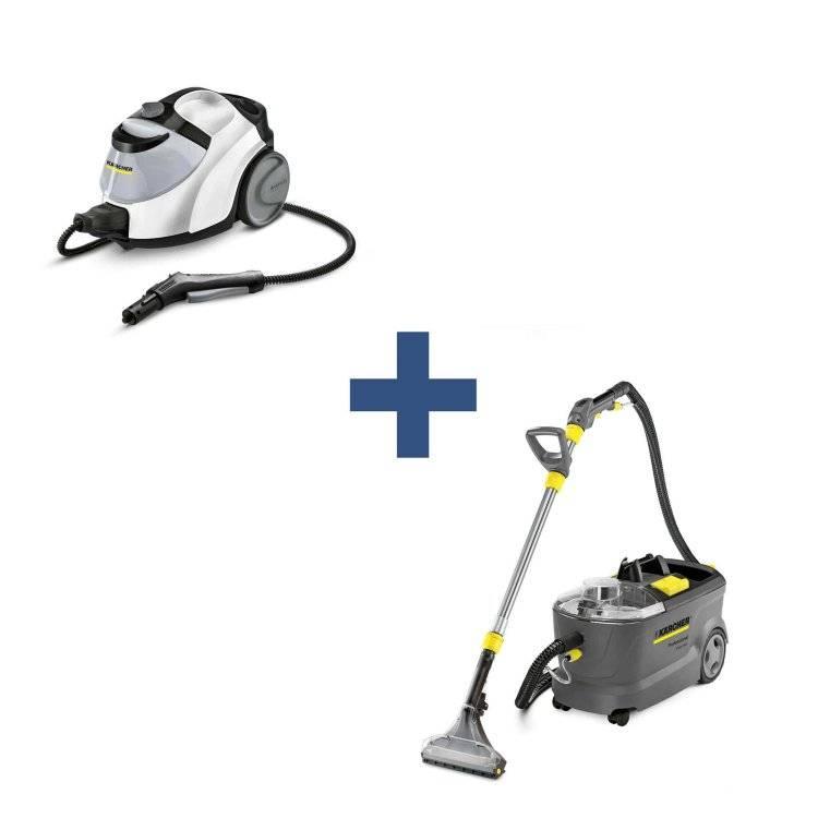 Моющий пылесос или пароочиститель — сравнение по 4 параметрам