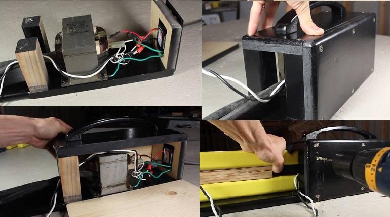 Куда можно применить трансформатор от микроволновки. делаем контактную сварку из микроволновки своими руками. управление и процесс сварки