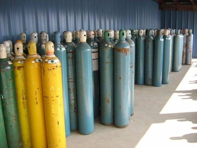 Характеристики типовых 50 литровых газовых баллонов — конструкция, габариты и вес баллона