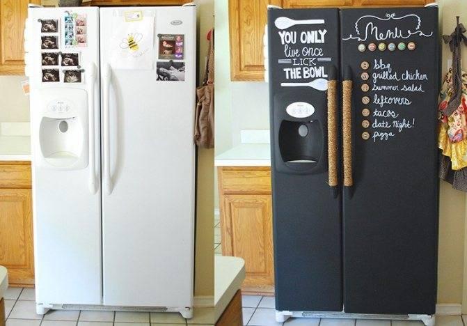 Декор холодильника своими руками: самые простые способы