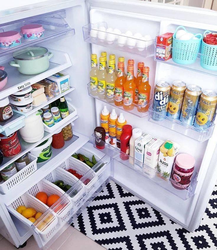 Порядок в холодильнике: как навести и поддерживать — свои