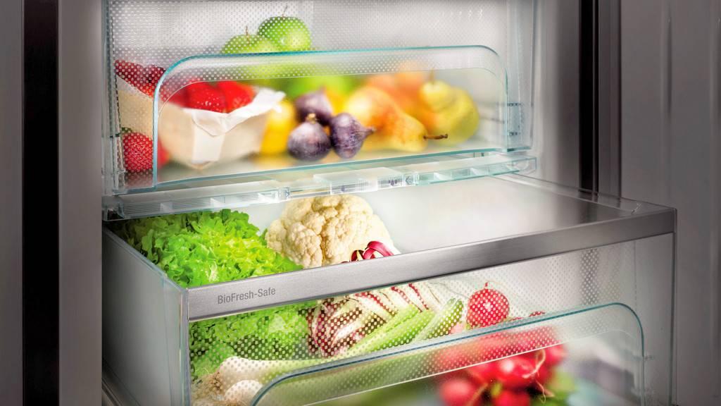 Зона свежести в холодильниках