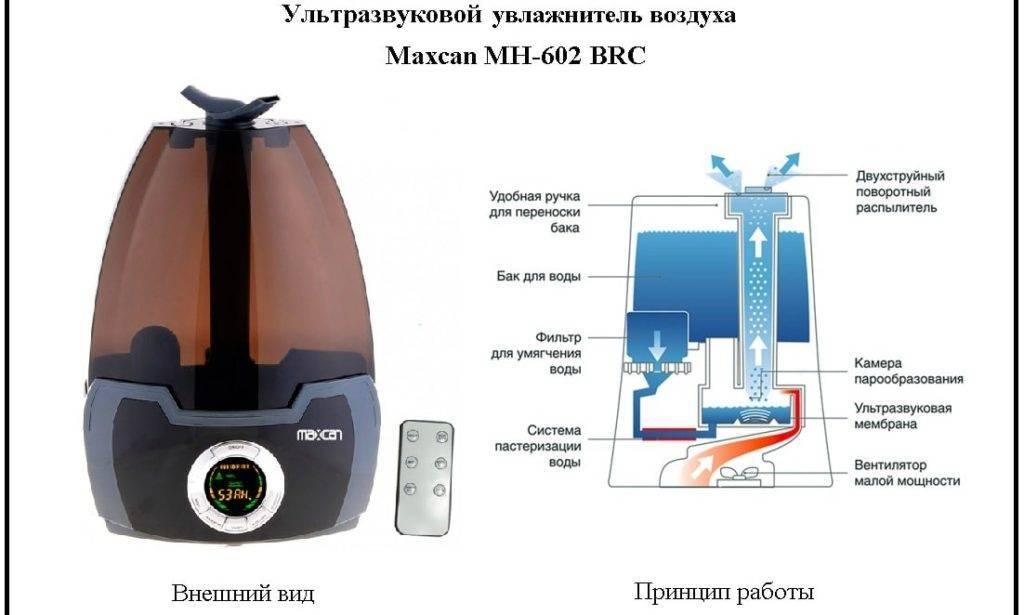 Принцип работы увлажнителя воздуха. как работает