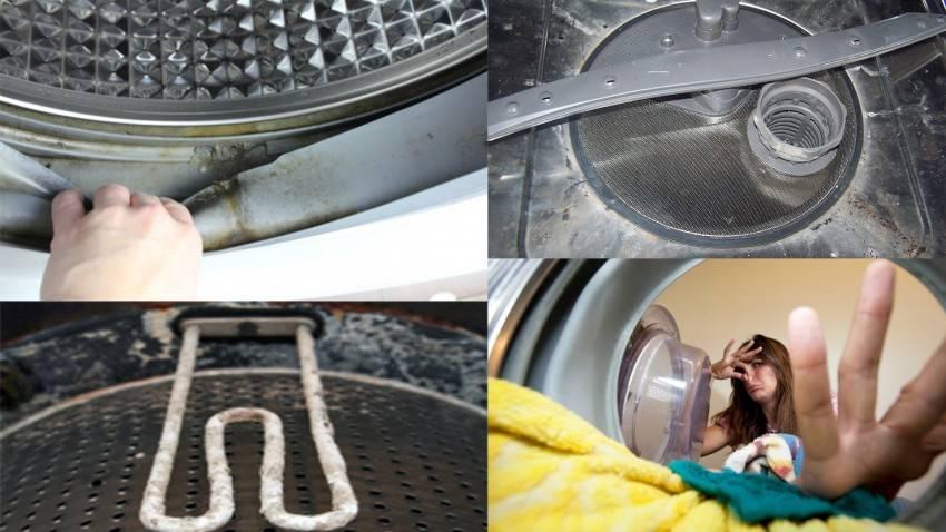 Как избавиться от неприятного запаха в стиральной машине автомат