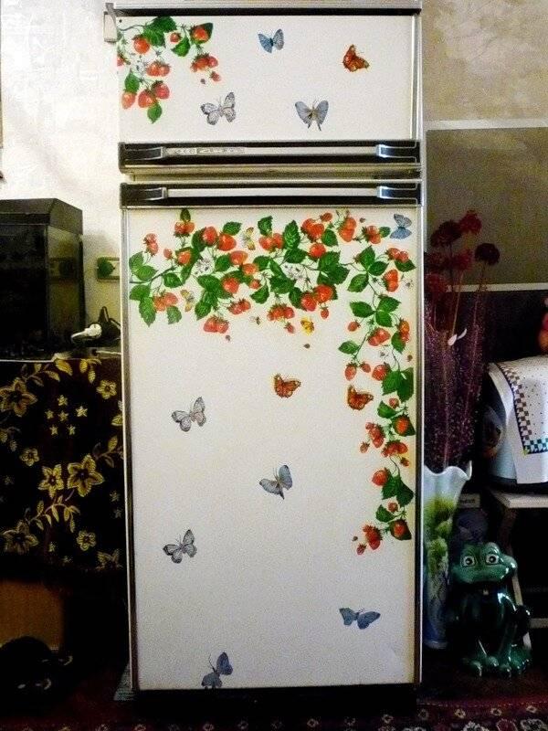 Как сделать декор холодильника своими руками