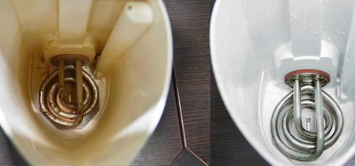 Как убрать накипь в эмалированном чайнике в домашних условиях: как удалить народными средствами, очистить бытовой химией?