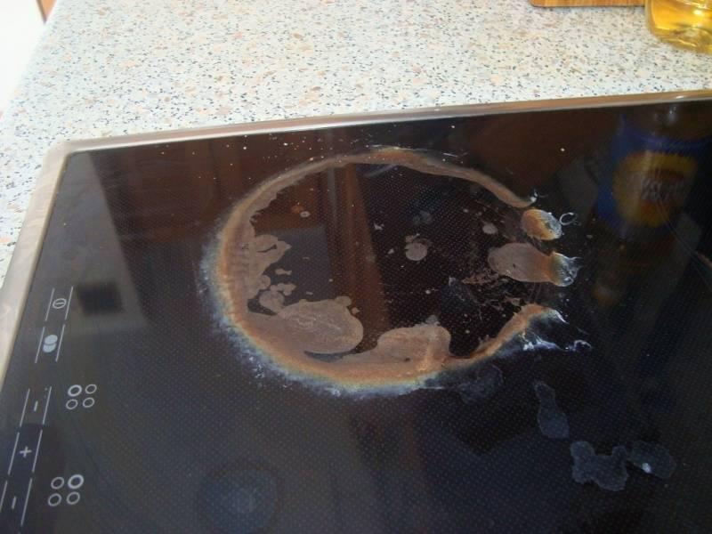Чем и как отмыть индукционную плиту в домашних условиях