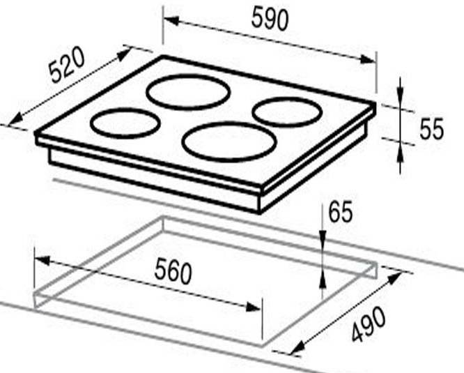 Что такое зависимая варочная панель — описание устройства и особенности