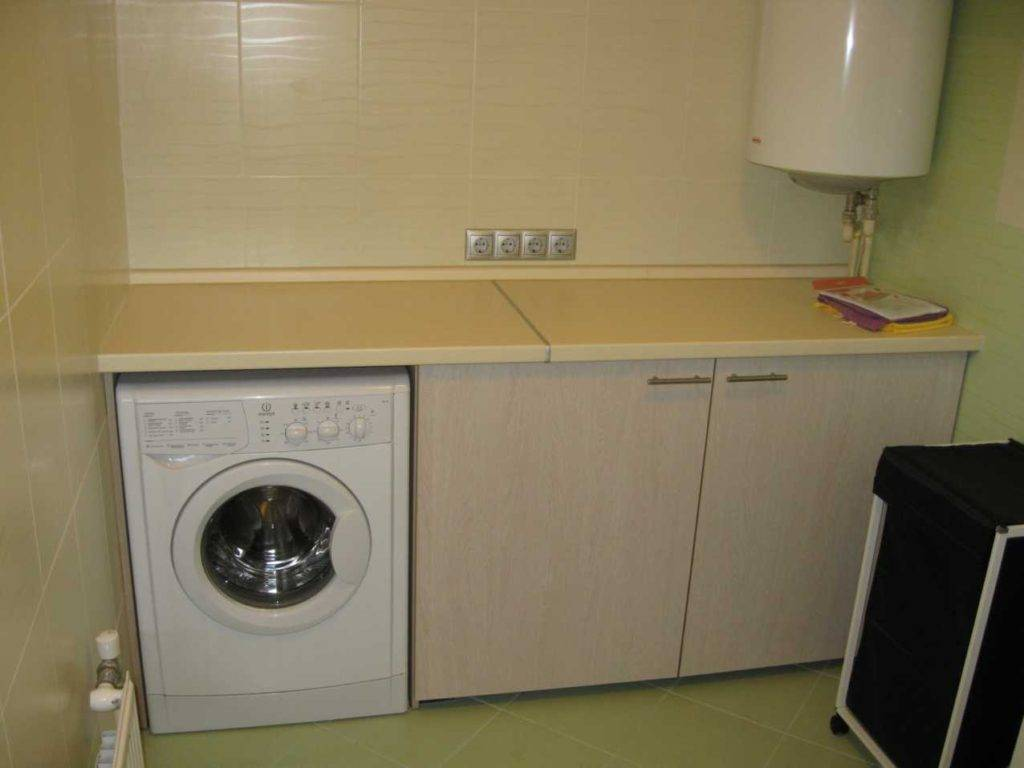 Дизайн ванны со стиральной машинкой – варианты размещения техники