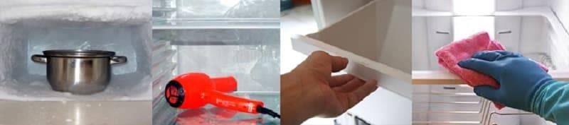 Как быстро разморозить холодильник: правила размораживания холодильника и морозильной камеры