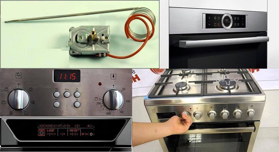 Типичные неисправности и ремонт газовой плиты своими руками