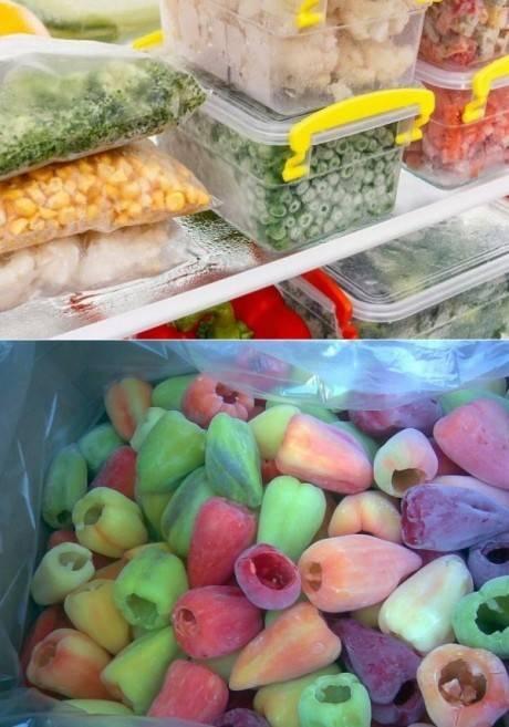 Как заморозить овощи и фрукты: 9 необычных рецептов заготовок