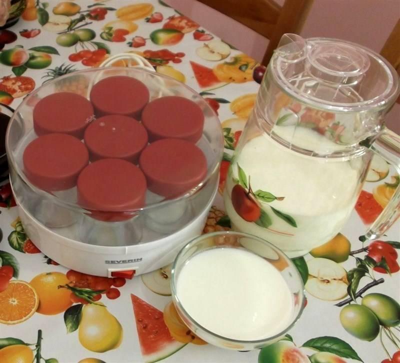 Натуральный йогурт в домашних условиях - не голодай!