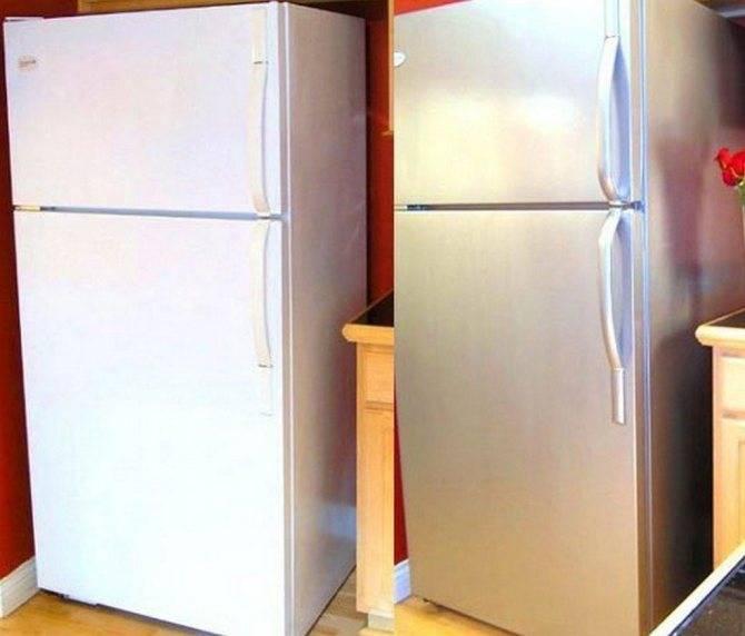 Покраска холодильника: выбор краски и техника нанесения