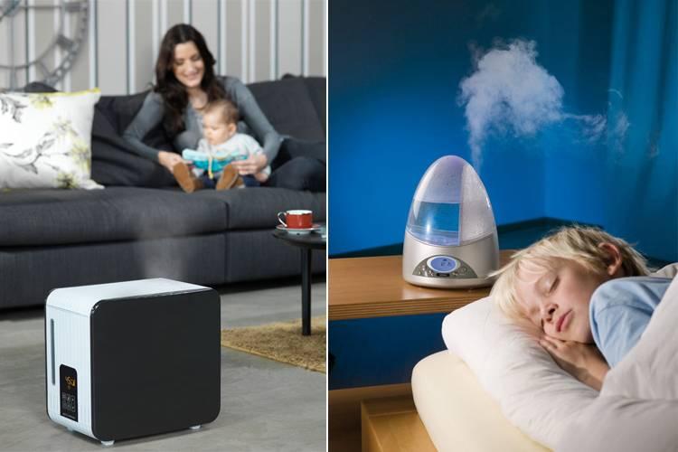 Для чего нужен увлажнитель воздуха? В доме или в квартире, зимой и летом