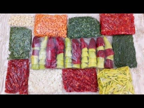 Какие овощи можно замораживать на зиму в домашних условиях