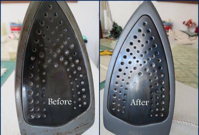 Как эффективно и легко очистить утюг от пригара