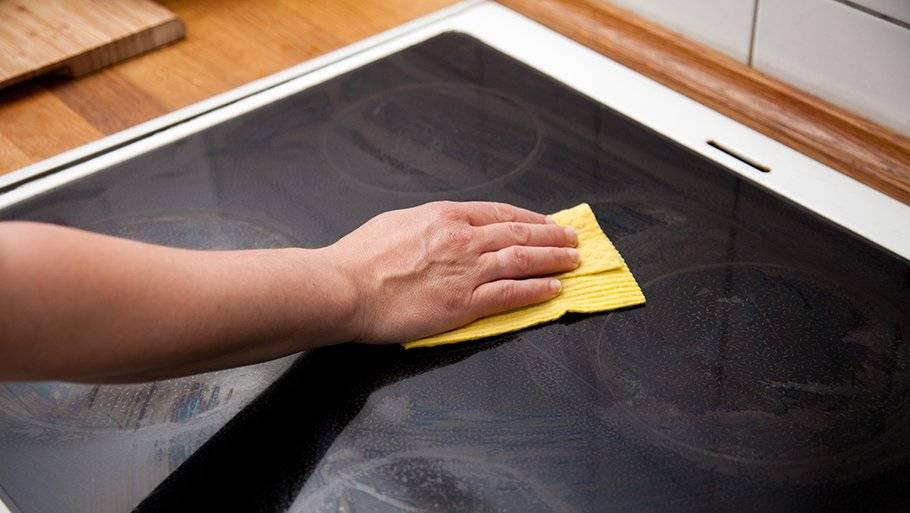Чем чистить индукционную варочную панель - средства и способы очистки индукционных плит