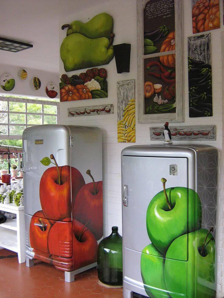 Покрасить холодильник снаружи в домашних условиях: выбираем краску