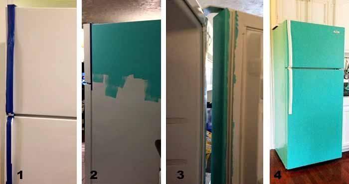 Декор холодильника – 80 фото-идей и 8 супер-способов переделки