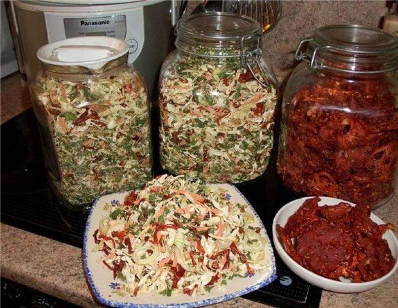 Домашняя приправа из сушеных овощей на зиму в электросушилке