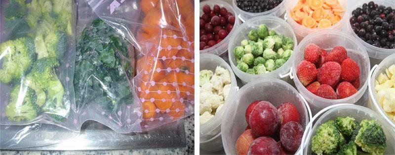 Как заморозить свежую зелень, овощи, грибы и ягоды на зиму
