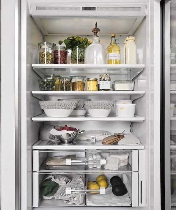Как правильно хранить продукты в холодильнике - советы и правила